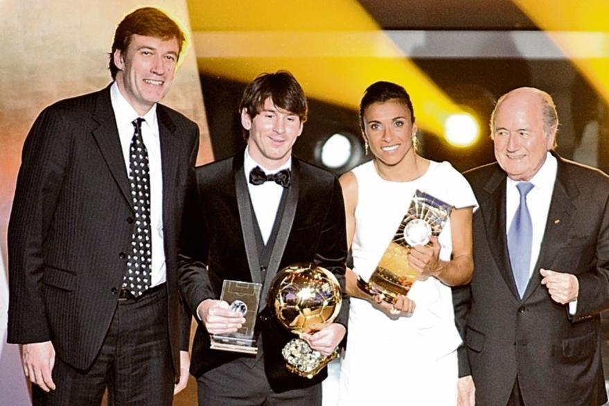 Messi ganó el Balón de Oro de la FIFA en 2011. (Foto: AFP)