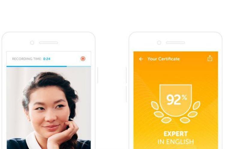 El Duolingo English Test es el primer examen de inglés estandarizado y supervisado digitalmente. (Foto Prensa Libre: Duolingo)