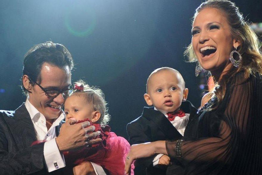 Marc Anthony y Jennifer López tuvieron dos hijos durante sus ocho años de matrimonio. (Hemeroteca PL).