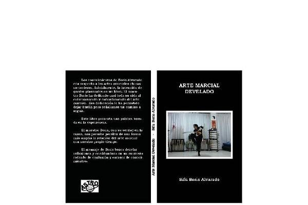 portada del libro Arte marcial develado