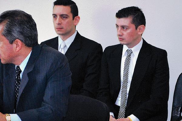 El abogado Luis Monterroso Bolaños y su hermano Roberto son sindicados de la muerte de un hombre, en Quetzaltenango.  (Foto Prensa Libre: Alejandra Martínez)