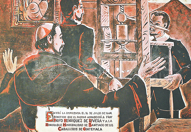 El 16 de julio de 1660 se trajo a Guatemala la primera imprenta, procedente de Puebla, México. (Foto: Hemeroteca PL)