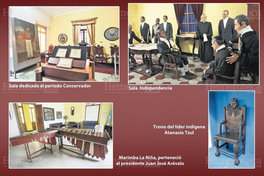 Algunos de los tesoros que guarda el museo. (Foto: Hemeroteca PL)