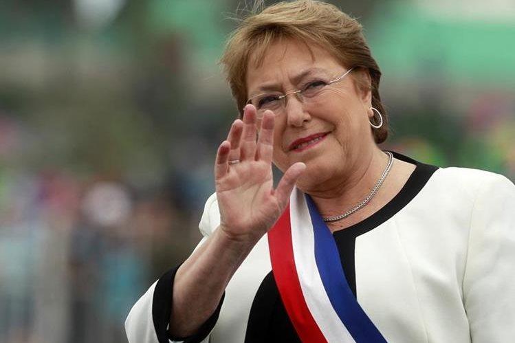 <em>Michelle Bachelet, presidenta de Chile. (Foto Prensa Libre: AFP).</em>
