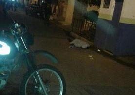 Un hombre murió en ataque armado en Mixco. (Foto: municipalidad de Mixco)