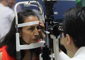 Las cirugías para eliminar la carnosidad en los ojos son las más frecuentes durante jornada de evaluación temprana. (Foto Prensa Libre: Érick Ávila)