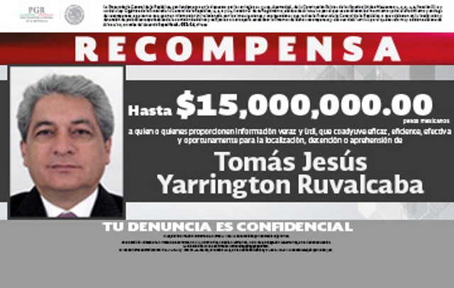 Yarrington Ruvalcaba, exgobernador de Tamaulipas, fue capturado en Italia. Es acusado de lavado de dinero. (Foto Prensa Libre: AFP)