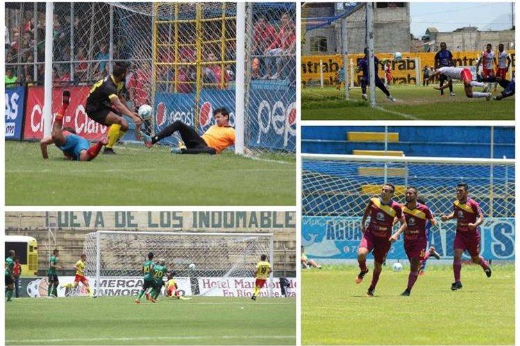 La jornada 4 del Apertura 2016 dejó un total de 14 goles el fin de semana. (Foto Prensa Libre: Hemeroteca)