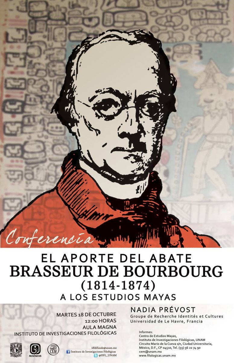 Abate Charles Brasseur de Bourbourg. (Foto PL: internet)