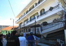 El municipio de Tacaná, San Marcos, es uno de los lugares más afectados por el terremoto de magnitud 7.7. (Foto Prensa Libre: Álvaro Interiano)