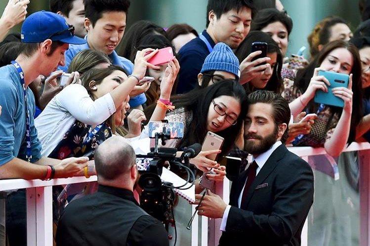 El actor Jake Gyllenhaal llegó a Toronto para la presentación de la cinta Demolition, que inauguró el festival. (Foto Prensa Libre: EFE)