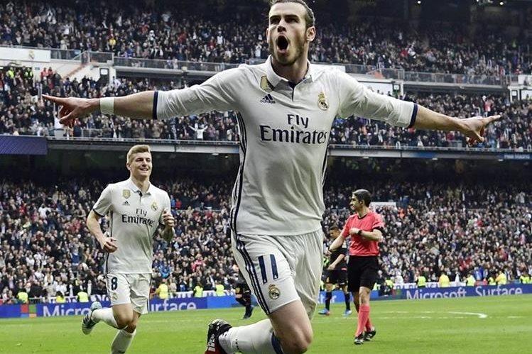 Bale regresó con gol luego de casi tres meses recuperándose de una lesión. (Foto Prensa Libre: AFP)
