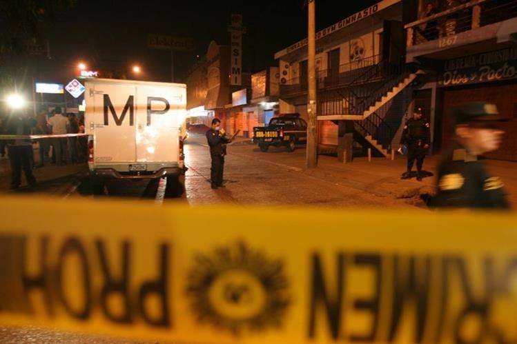 Después de 1996, los crímenes se concentran en Guatemala, Escuintla, Petén, Izabal y Chiquimula. En ocasiones, los ataques armados han llegado a 15 en un día. (Foto Prensa Libre: Hemeroteca PL)