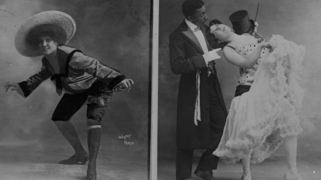 """El fenómeno de la danza """"cake walk"""", de Harlem, conquista los escenarios franceses y opaca la popularidad de Chocolat. GETTY IMAGES"""