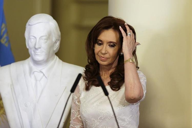 Cristina Fernández, expresidenta de Argentina en uno de sus últimos actos públicos como mandataria. (Foto Hemeroteca PL).