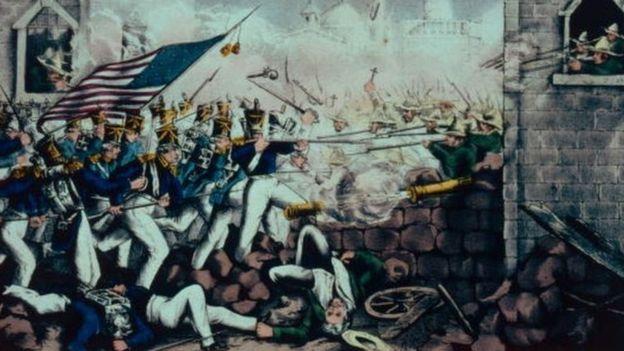 La Batalla de Monterrey fue clave para el desarrollo de la Guerra entre México y Estados Unidos. GETTY IMAGES