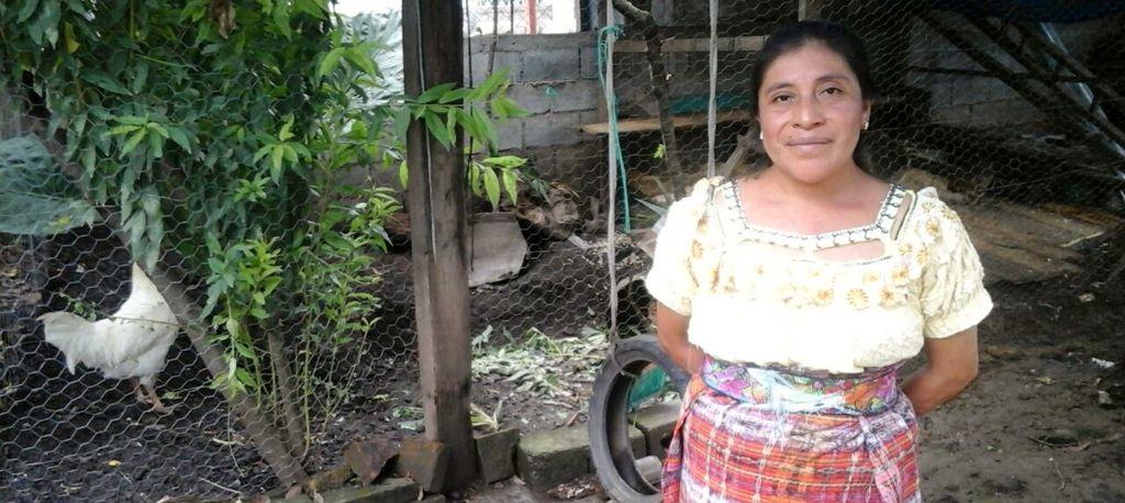 Es maestra en la Escuela Oficial Rural Mixta de la aldea Quizachal. (Foto Prensa Libre: Óscar Figueroa).