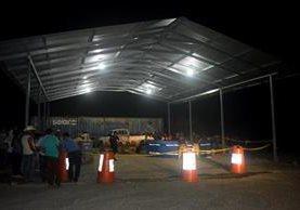 Noé Arnoldo de María Menéndez fue asesinado en Semox, Livingston, Izabal. (Foto Prensa Libre: Dony Stewart)