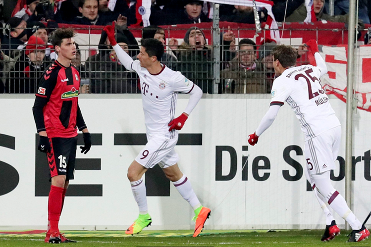Bayern Múnich logró su sexto triunfo consecutivo
