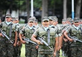 Por reorganización el Ejército de Guatemala aumentará la presencia en áreas fronterizas. (Foto Prensa Libre: Hemeroteca PL)