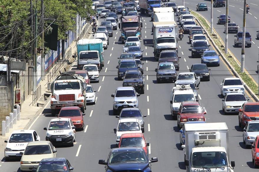 La Pacífico es de las que más tránsito tendrá en la semana. (Foto Prensa Libre: Hemeroteca PL)