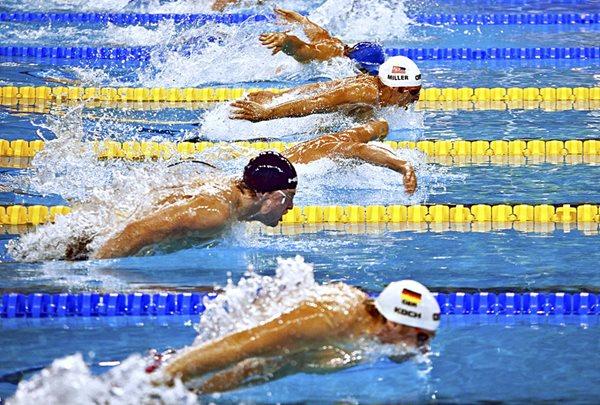 2018 escoltas Deportes acuáticos