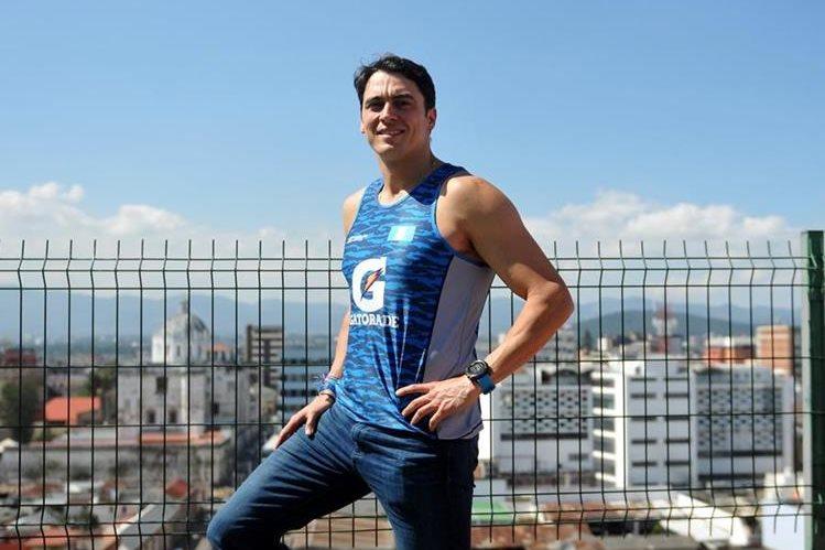 Charly Sarmniento comienza con su año competitivo en febrero en la Ultramaratón de Gran Canaria en España, una prueba de 125 kilómetros. (Foto Prensa Libre: Gloria Cabrera)