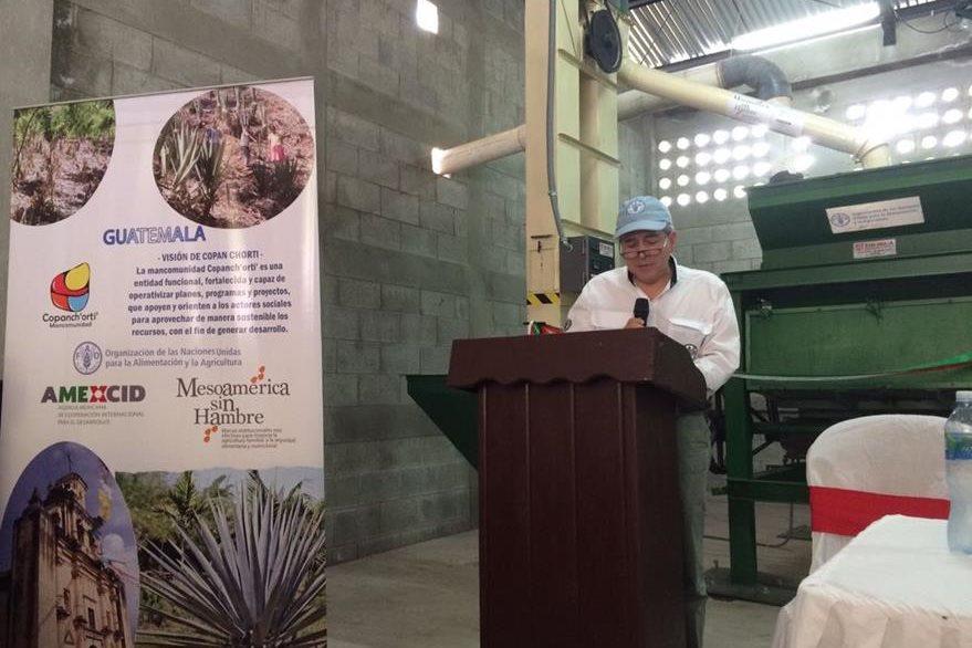 Diego Recalde, representante de la FAO en Guatemala. (Foto Prensa Libre: Cortesía FAO)