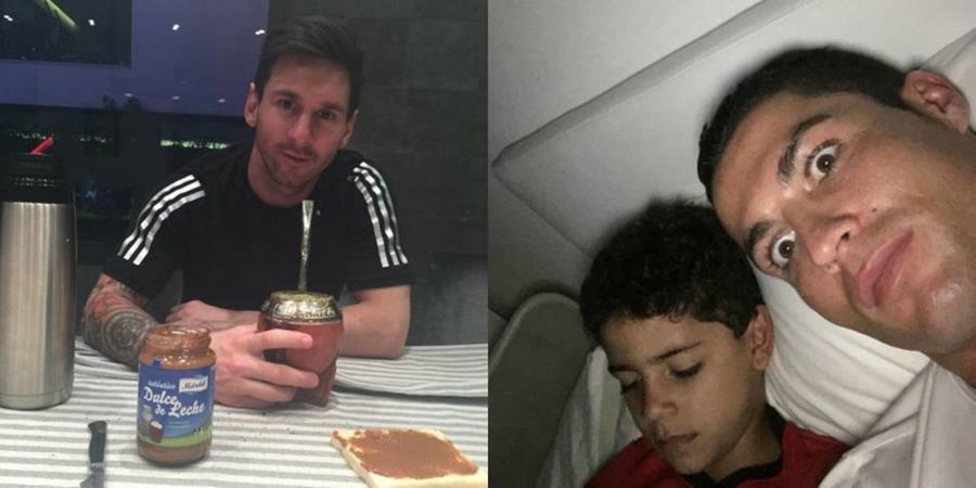 Messi y Cristiano son favoritos para ganar. (Foto Prensa Libre: Instagram Lionel Messi y Cristiano Ronaldo)