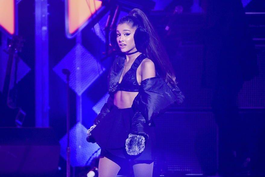 Ariana Grande, cantante estadounidense. Foto Prensa Libre: AP