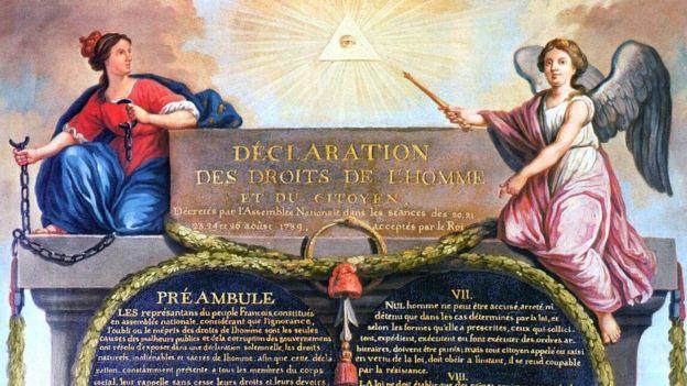 La Revolución francesa hizo que la existencia de aristócratas fuera incongruente, pero no acabó con ella. JEAN-JACQUES-FRANÇOIS LE BARBIER