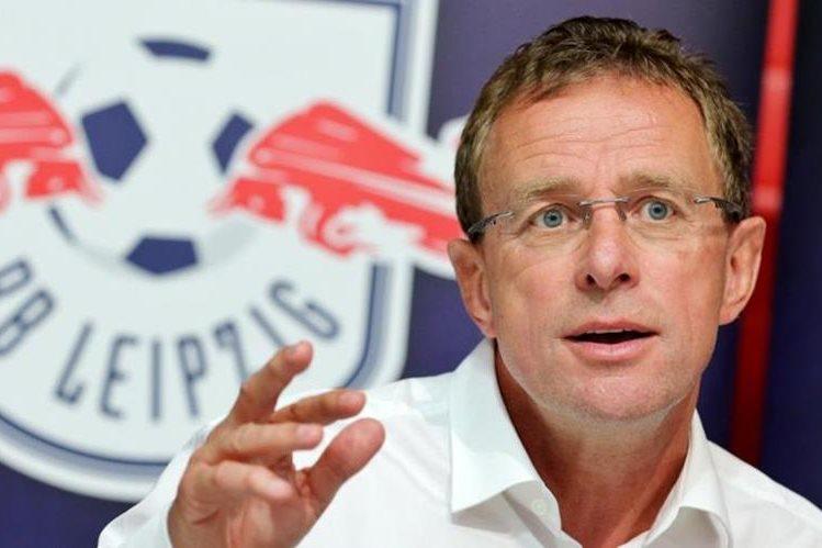Ralf Rangnick aseguró que el título no es un imposible para el Liepzig. (Foto Prensa Libre: Hemeroteca)