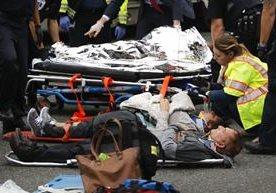 Acidente de tren deja más de cien heridos.