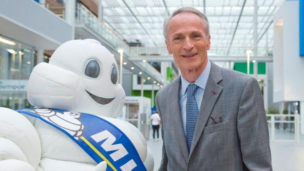 Jean-Dominique Senard, es director de Michelin y un duque papal. GETTY IMAGES