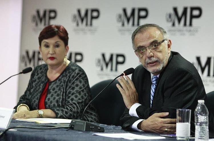Mientras el presidente se reunía con el secretario general de la ONU, el Ministerio Público y la Cicig presentaban un antejuicio en su contra. (Foto Prensa Libre: Carlos Hernández)