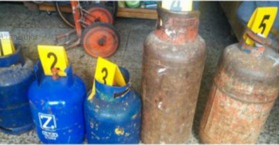 En los tres expendios verificados en la zona 11  capitalina se detectaron anomalías. (Foto, Prensa Libre: MP)