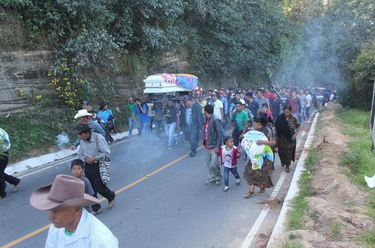 Cuxulic era originario de Nueva Esperanza y había viajado ilegalmente a Estados Unidos. (Foto Prensa Libre: Ángel Julajuj)