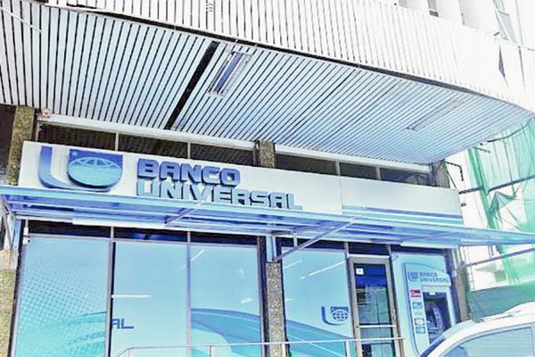 Banco Universal de Panamá fue intervenido por la Superintendencia de Bancos de Panamá por riesgo financiero. (Foto Prensa Libre: Agencias)