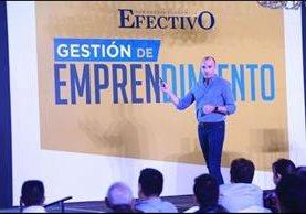 René Lankenau, Fundador de Onward, uno de los expertos invitados por Semanario Efectivo. (Foto Prensa Libre: Esbin García)