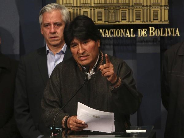 """Evo Morales afirma que el asesinato de Rodolfo Illanes por mineros es """"imperdonable.(Foto prensa Libre:EFE)."""