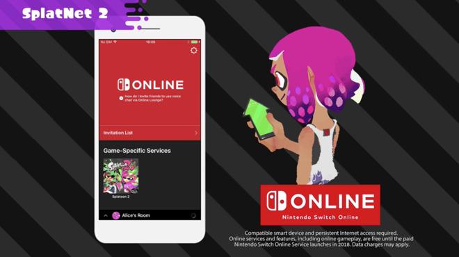 Así es la app móvil de Splatoon 2: SplatNet2