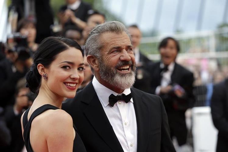 Mel Gibson será padre una vez más. (Foto Prensa Libre: AP)