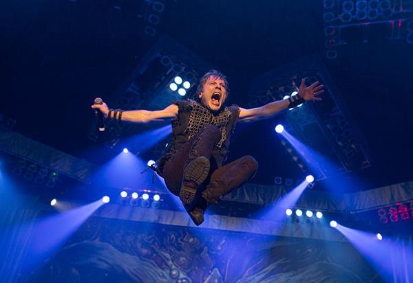 Bruce Dickinson grabará nuevo álbum con Iron Maiden. (Foto Prensa Libre: Tomada de www.ironmaiden.com)