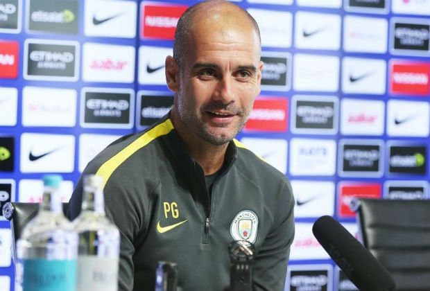Guardiola elogió a su colega Mauricio Pochettino, técnico del Tottenham, rival del próximo domingo. (Foto Prensa Libre: Hemeroteca)