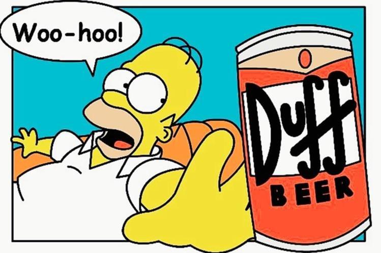 La cerveza Duff comenzará a distribuirse en Chile. (Foto Prensa Libre. Hemeroteca PL)