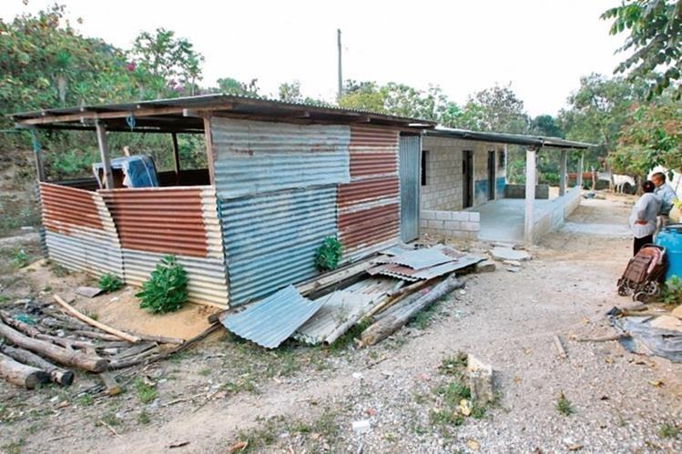 Un proyecto habitacional, en Chinautla, motivó la pesquisa contra Arnoldo Medrano. (Foto Prensa Libre: Álvaro Interiano)