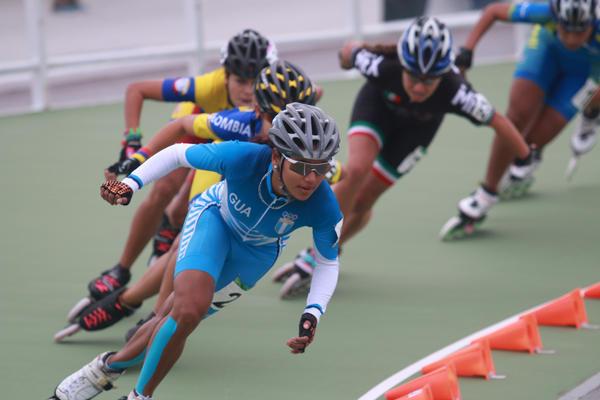 La guatemalteca Dalia Soberanis conquistó el bronce en los Juegos de Veracruz 2015. (Foto Prensa Libre: Hemeroteca PL).