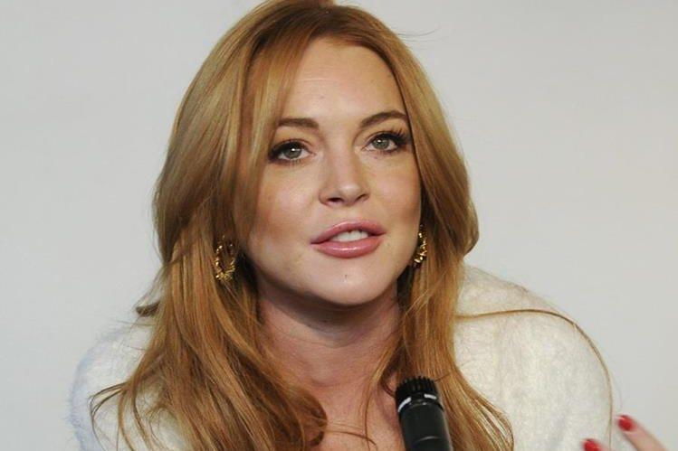 Lindsay Lohan intenta enderezar su vida de excesos. (Foto Prensa Libre: Hemeroteca PL)
