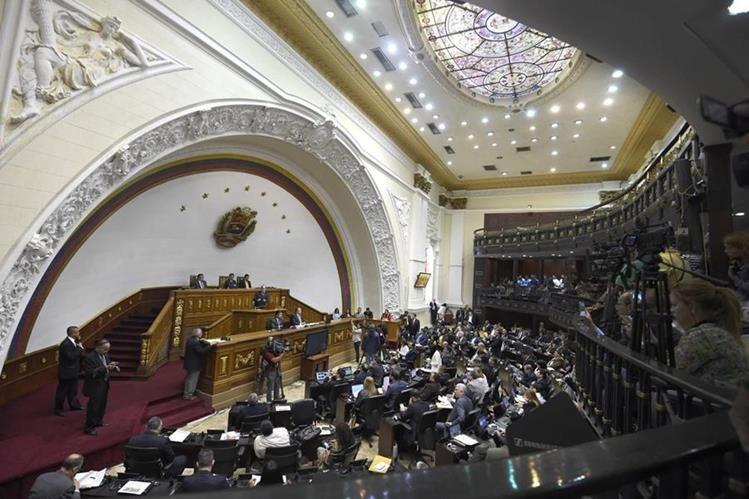 El Legislativo venezolano rechaza decreto de Nicolás Maduro de estado de Excepción. (Foto Prensa Libre: AFP).