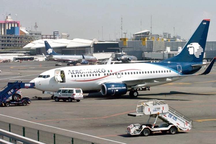 aeroméxico hará cuatro vuelos diarios entre las ciudades de Guatemala y México.